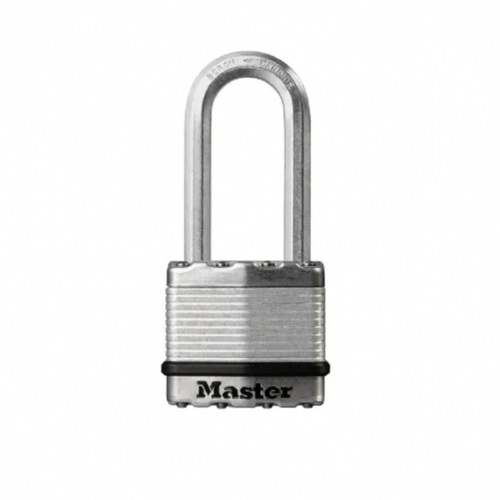 Master Lock M5EURDLH Excell Laminated Steel 50mm Padlock - 51mm Shackle